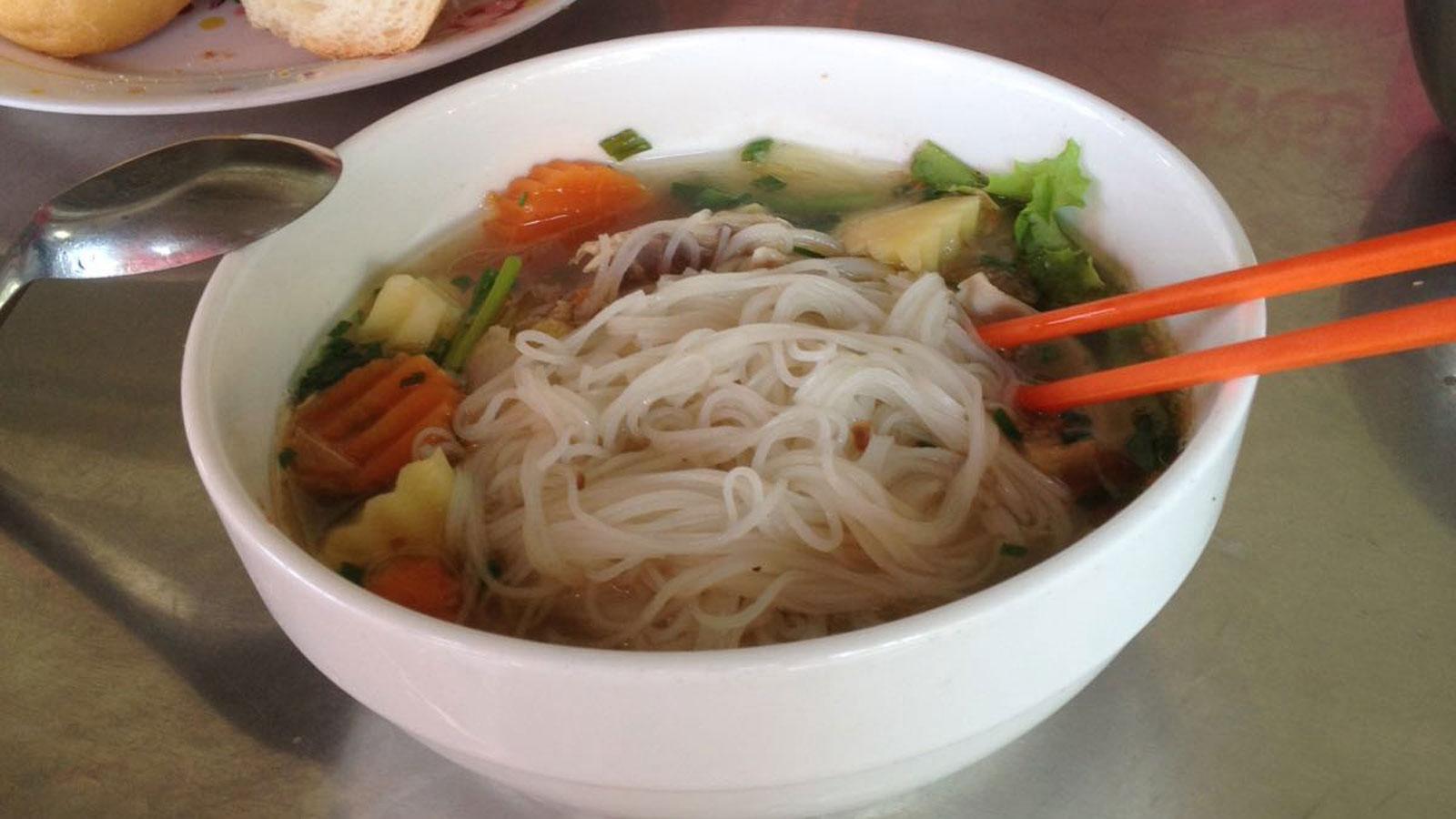 kambodschanisches Frühstück