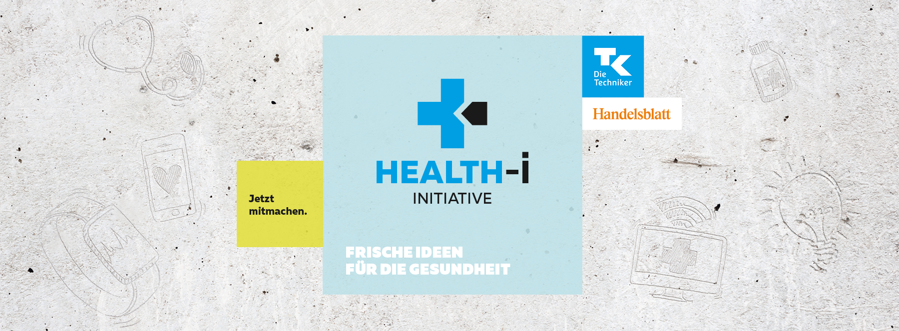 Health-i Initiative Kampagnenvisual